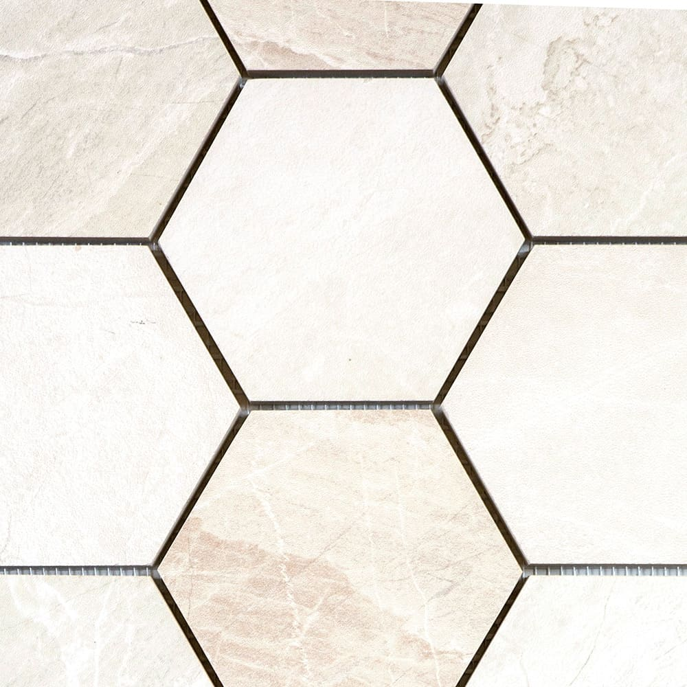White Levigato | Hexagonal