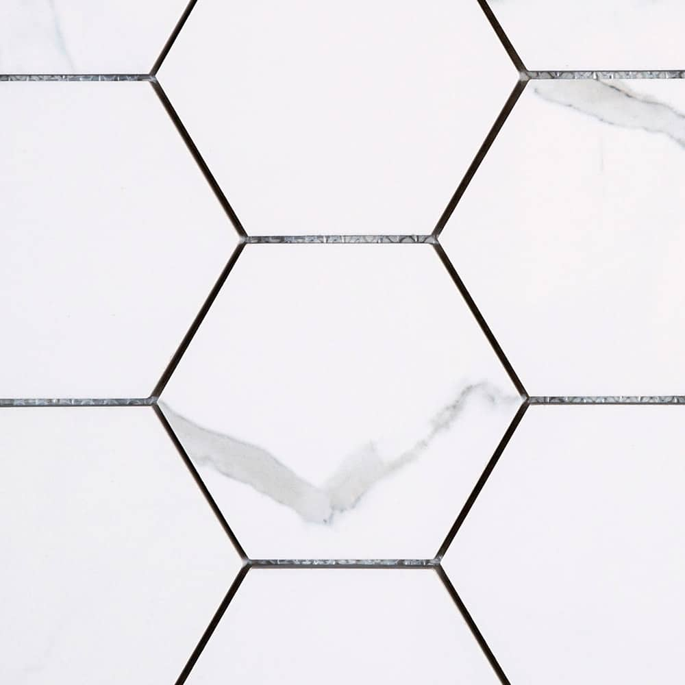 Statuario | Hexagonal