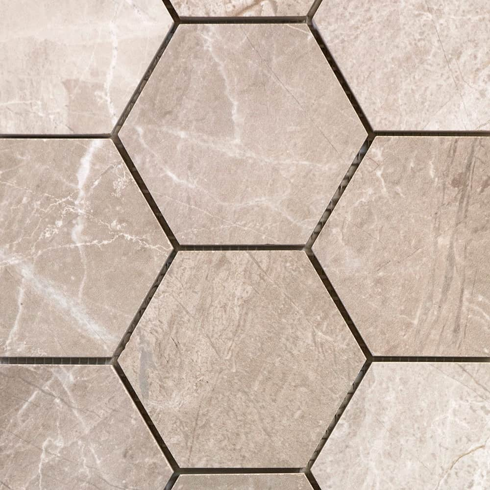 Greige | Hexagonal