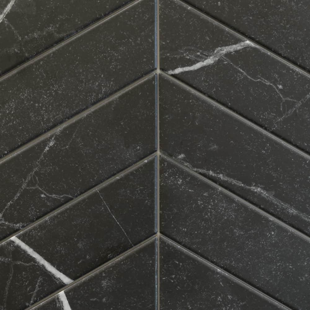 Chevrons Tino Black (4x18)