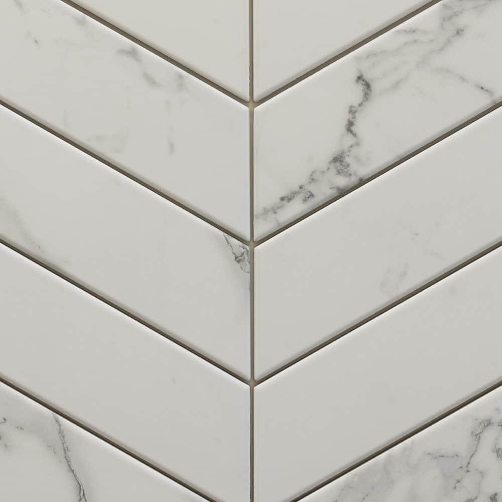 Chevrons Tino White (4x18)