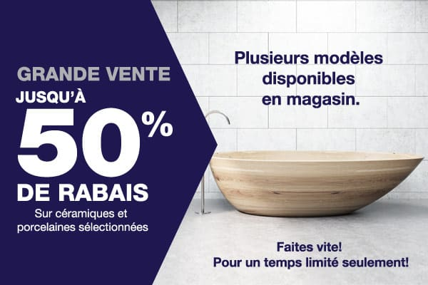 Carreaux Metro - Promo Mars 2018