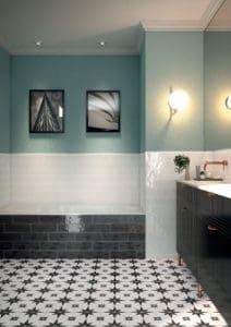 Céramique de salle de bain